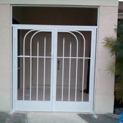Double-Door Entryway